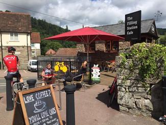 The Filling Station Cafe, Tintern.