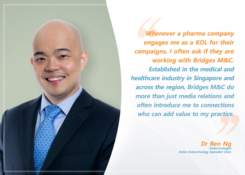 Testimonial Dr Ben Ng