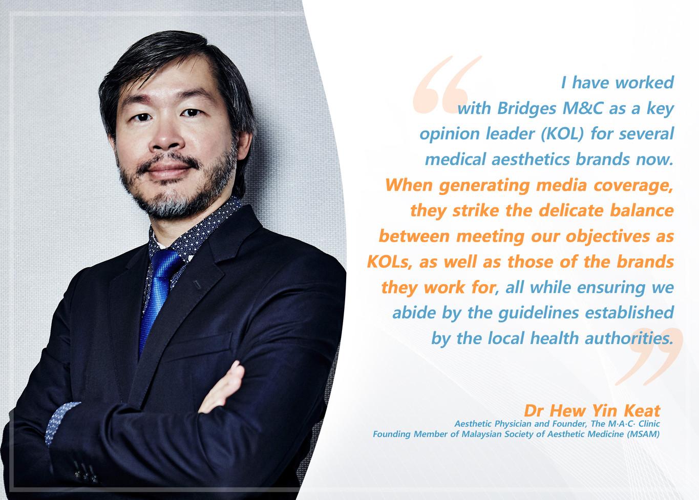 Testimonial Dr Hew Yin Keat