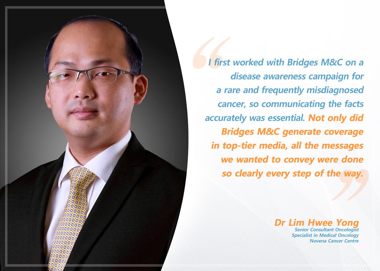 Testimonial Dr Lim Hwee Yong