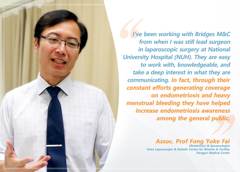 Testimonial Dr Fong Yoke Fai