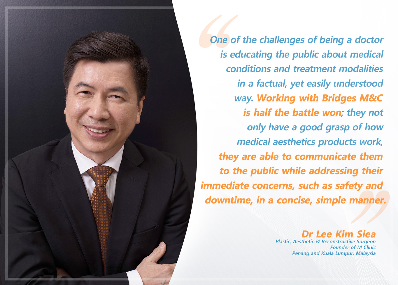 Testimonial Dr Lee Kim Siea