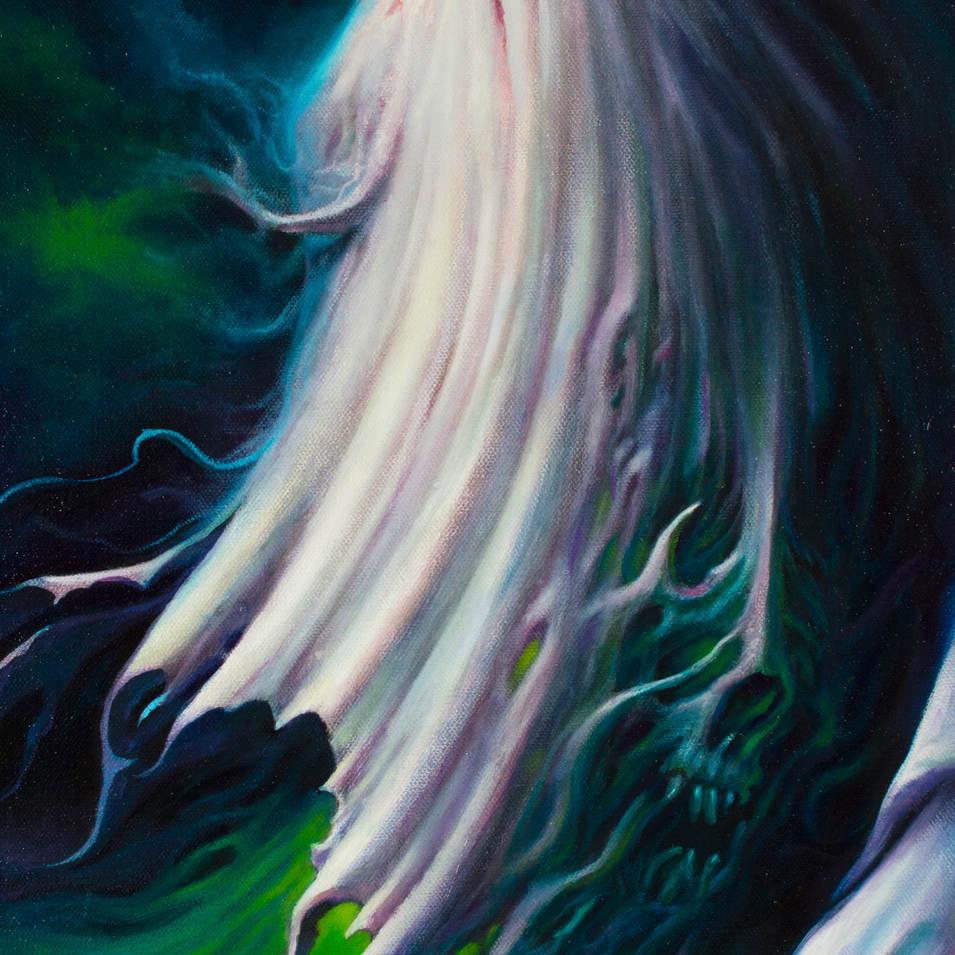 Apparition 12x24 Oil on Canvas