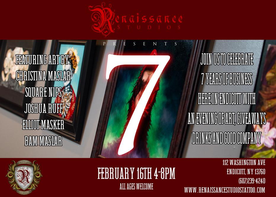 7: Renaissance Studios Anniversary Art Show