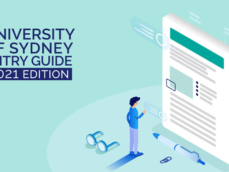 The University of Sydney, Doctor of Medicine Entry Guide (USyd 2021 entry edition)
