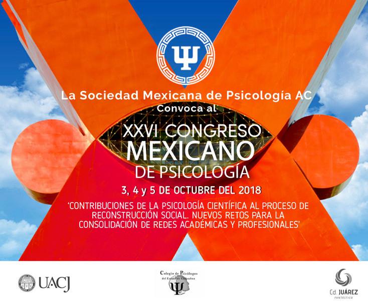 XVIII Congreso Mexicano de Psicología