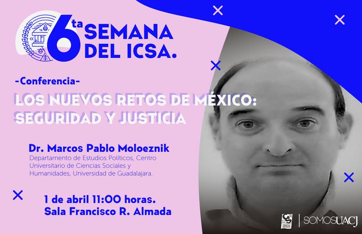 Ofrecen Conferencia sobre seguridad y justicia