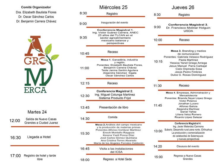Todo listo para el III Congreso Internacional Agro - Merca 2018