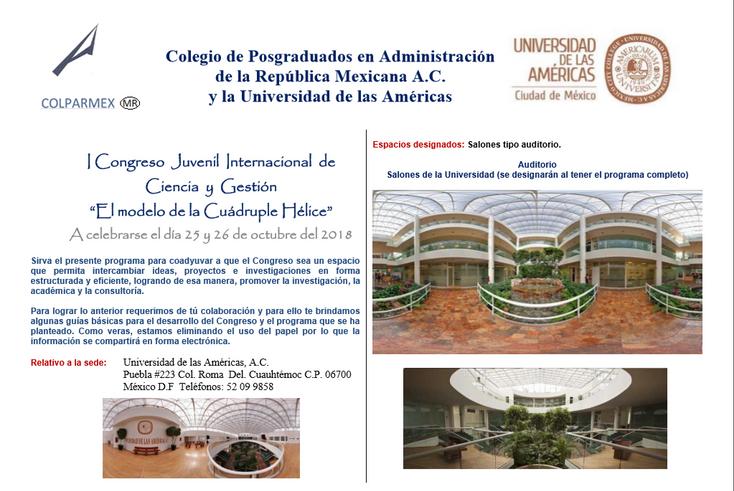 Invitan al I Congreso Juvenil Internacional de Ciencia y Gestión