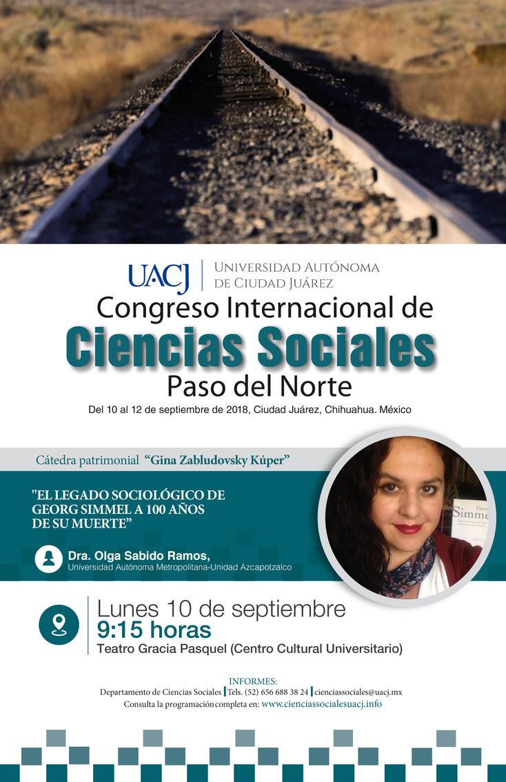 """Listo el programa de actividades del Congreso Internacional de """"Ciencias Sociales"""" Paso de"""