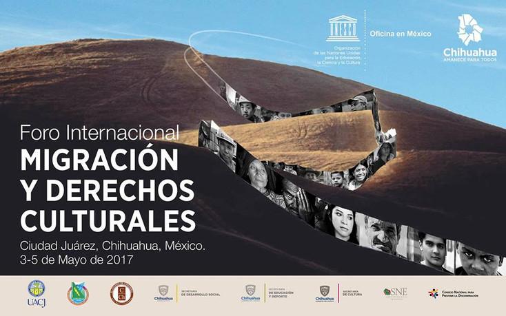Realizan Foro Internacional sobre Migración y Derechos Culturales