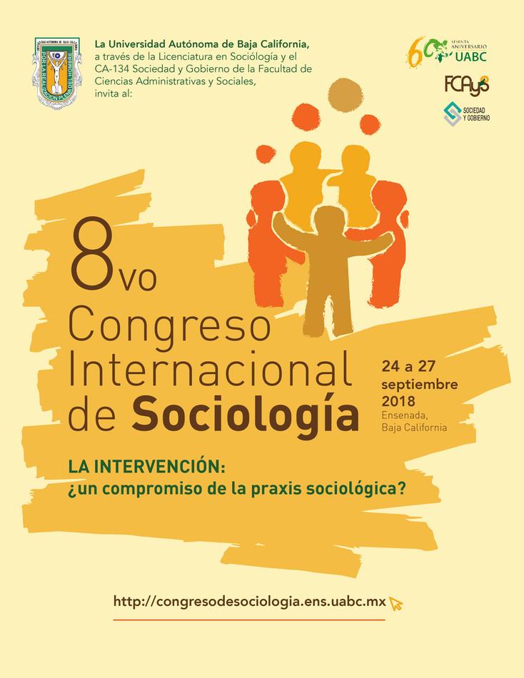 Convocan al 8vo. Congreso Internacional de Sociología