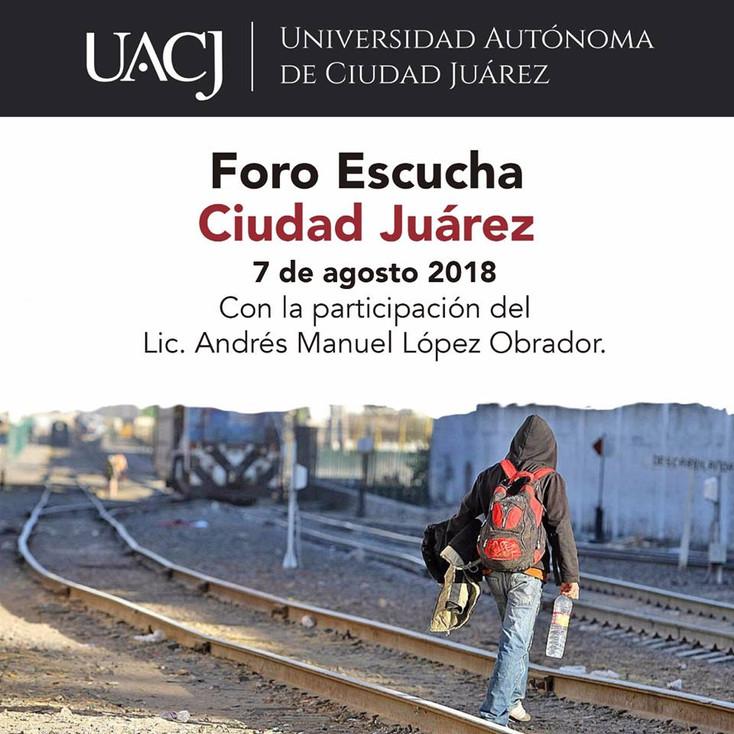 Foro Escucha Ciudad Juárez