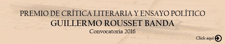 Lanza UACJ convocatoria para el Premio de Crítica Literaria y Ensayo Político Guillermo Rousset Band