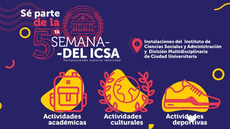 Realizan 5ta Semana del ICSA
