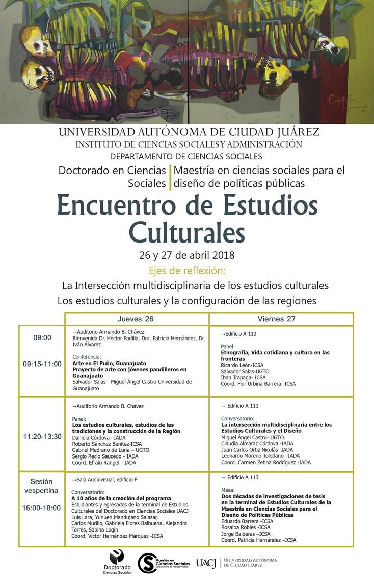 Inicia el Encuentro de Estudios Culturales