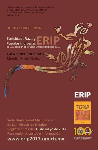 Quinta conferencia: Etnicidad, Raza y Pueblos Indígenas