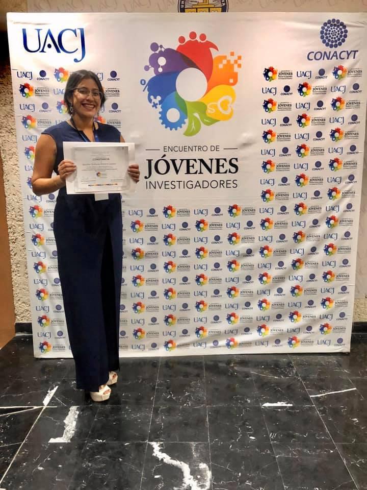 Obtiene alumna de la Maestría en Psicología primer lugar en el Encuentro de Jóvenes Investigadores
