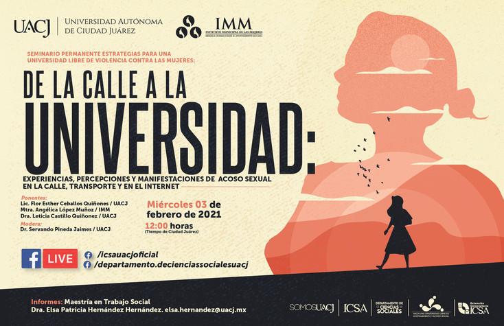 Ofrecen conferencia De la calle a la Universidad
