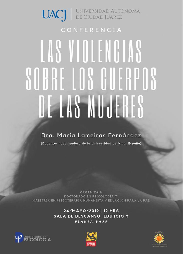 """Invitan a conferencia """"Las violencias en los cuerpos de las mujeres"""""""