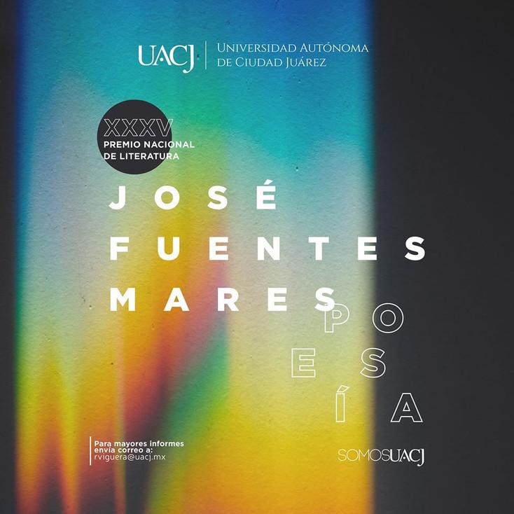 Convocan al XXXV Premio Nacional de Literatura José Fuentes Mares: poesía