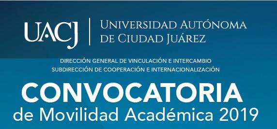 Abren Convocatoria de Movilidad Académica 2019