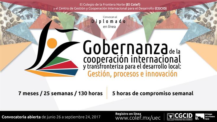 Convocan a Diplomado en línea sobre Gobernanza