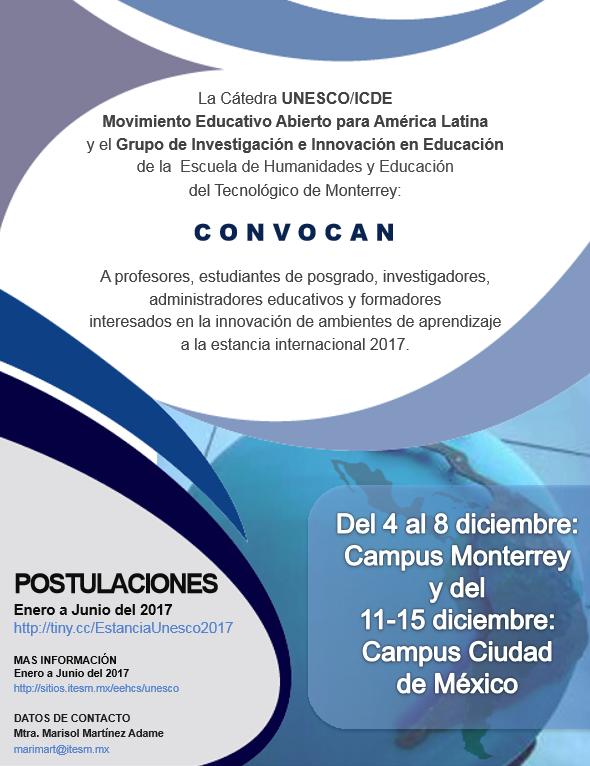 Estancia internacional del Movimiento Educativo Abierto para América Latina