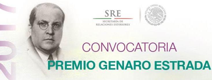 Convocatoria: Premio Genaro Estrada 2017