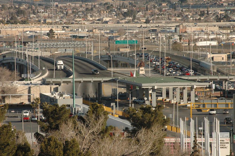 Puente Internacional Córdova de las Américas, Ciudad Juárez. Foto: A. Valverde.