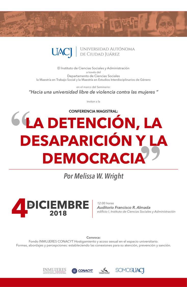 """El Seminario """"Hacia una universidad libre de violencia contra las mujeres"""" invita a confer"""