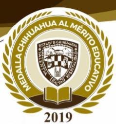 Convocan a participar en la Medalla Chihuahua al Mérito Educativo 2019