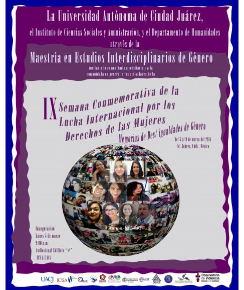 X Semana Conmemorativa de la Lucha Internacional de los Derechos de las Mujeres