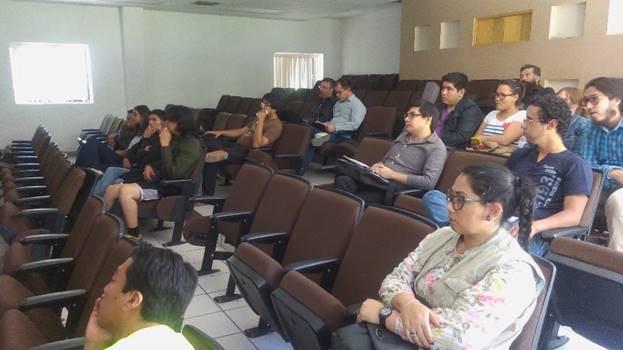 Realizan plática con Axel Benítez, egresado de Antropología Física de la ENAH