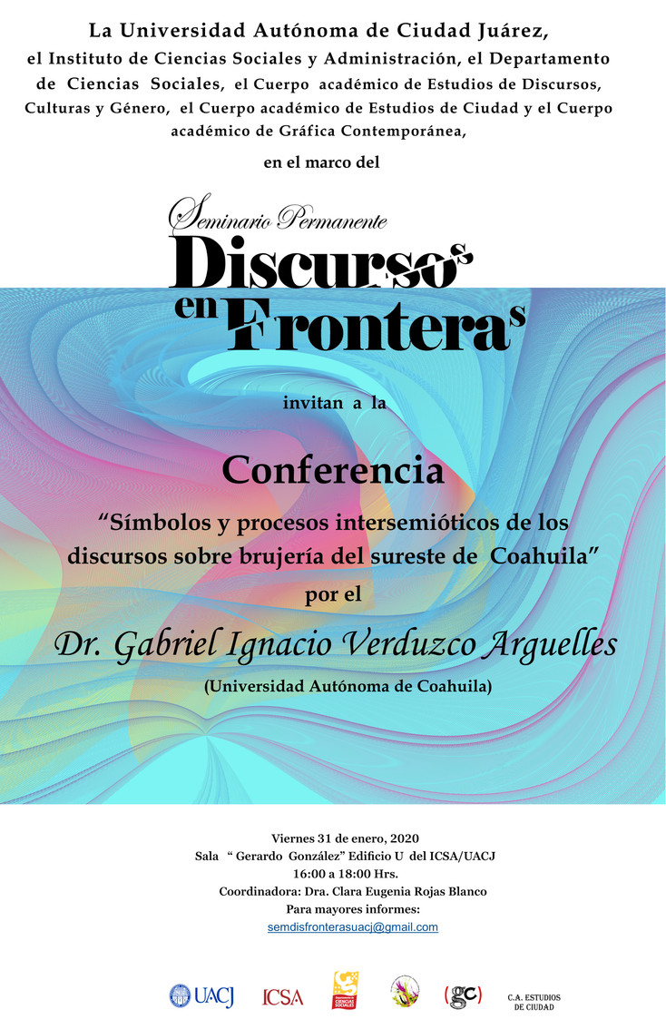 Invitan al Seminario Permanente Discurso/s en Frontera/s