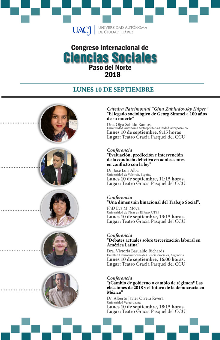 """Inicia el Congreso Internacional de Ciencias Sociales """"Paso del Norte"""""""