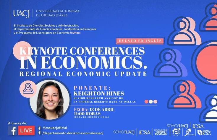 Invitan a conferencia en Economía