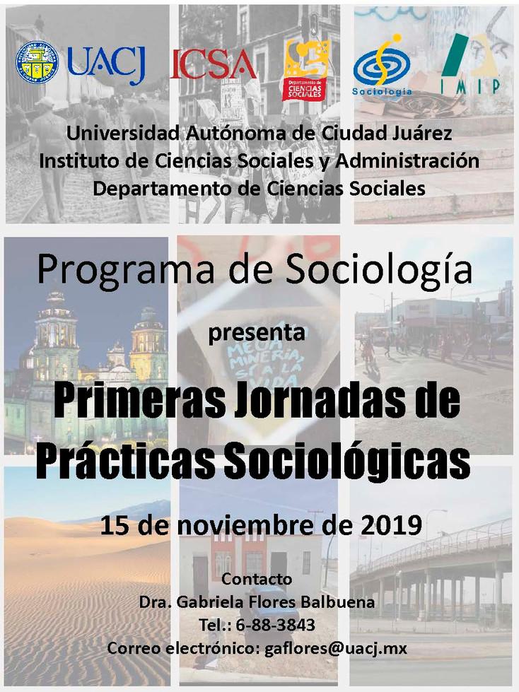Invitan a las primeras Jornadas de Prácticas Sociológicas