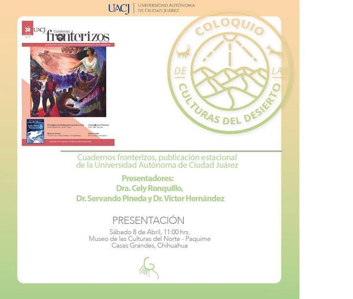 Presentan Cuadernos Fronterizos en Nuevo Casas Grandes