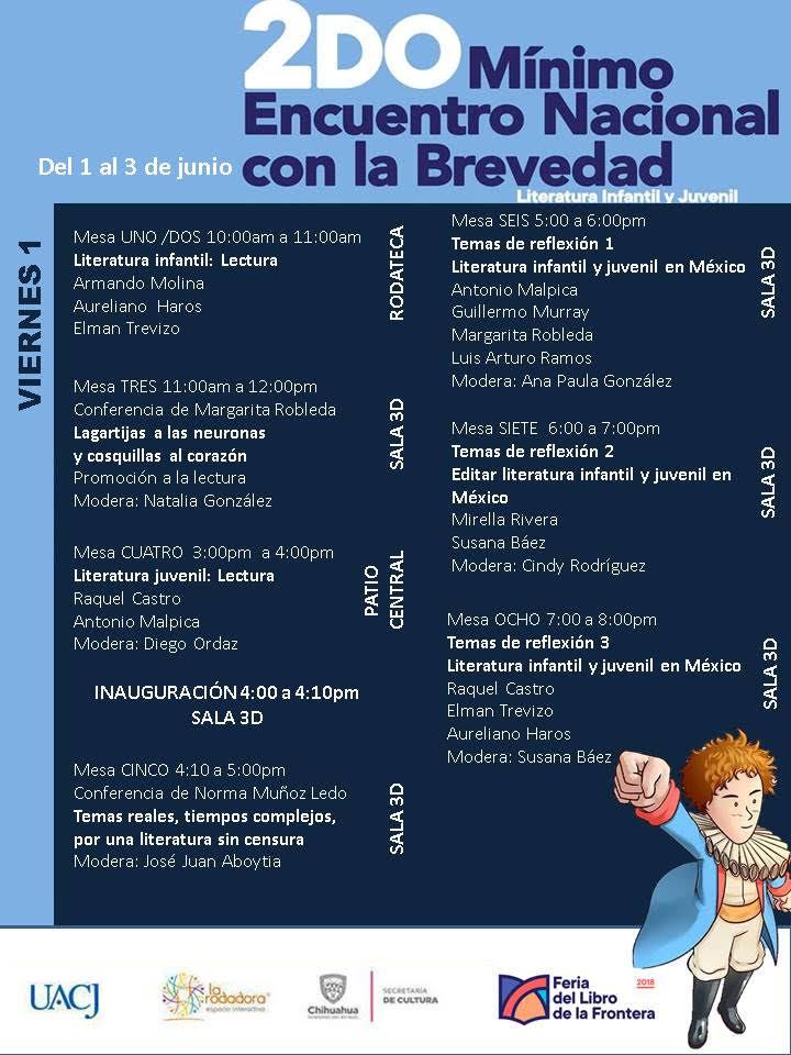 Realizan 2do Mínimo Encuentro Nacional con la Brevedad: literatura infantil y juvenil
