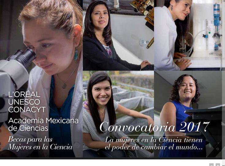 Becas para Mujeres en la Ciencia L´Oréal-UNESCO-CONACYT-AMC