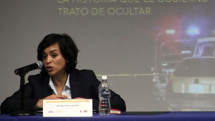 Anabel Hernández en la Frontera
