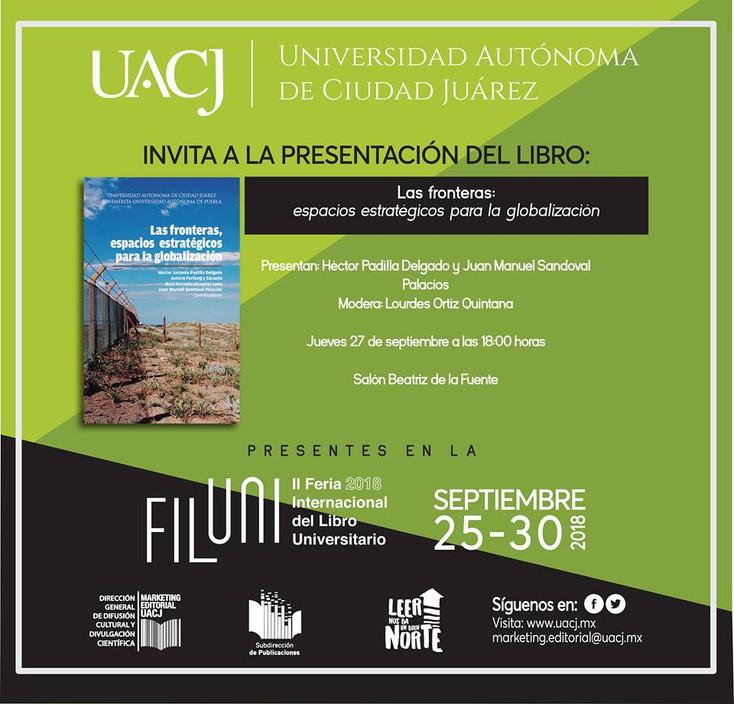 La UACJ presente en la Feria Internacional del Libro Universitario en la CDMX