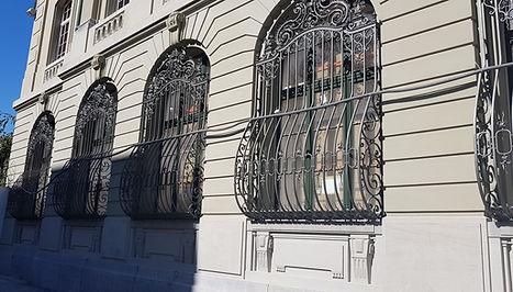 Metallspritzwerk, Fenstergitter