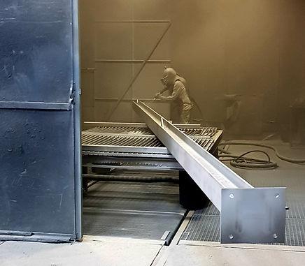 Sandstrahlen für Industrie