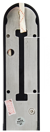 E-LOK designed for retrofit, fits on any door