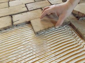 End Grain Flooring Installation
