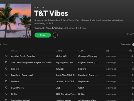 Soundtrack for Your Luxe Travel Adventures