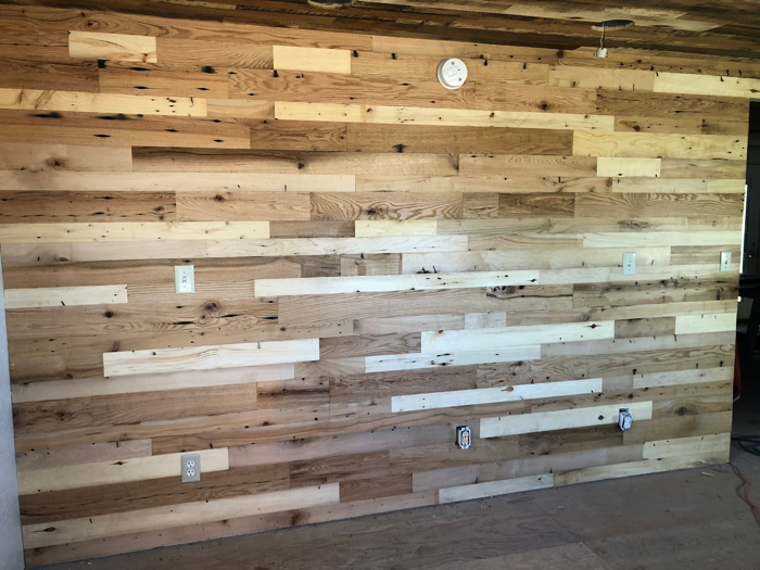 Center Cut Accent Wall