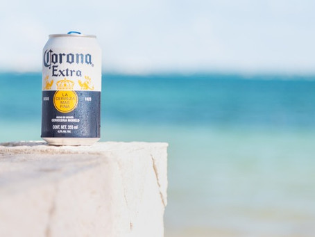 I prefer Corona as a beer. With a lime. On a beach.